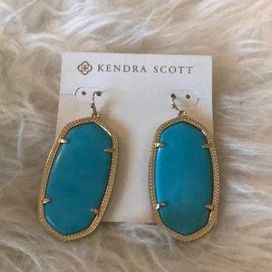 Kendra Scott Turquoise Danielle Earrings